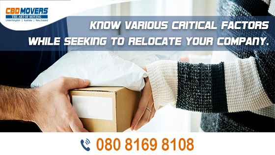 Know various critical factors while seeking to relocate your company