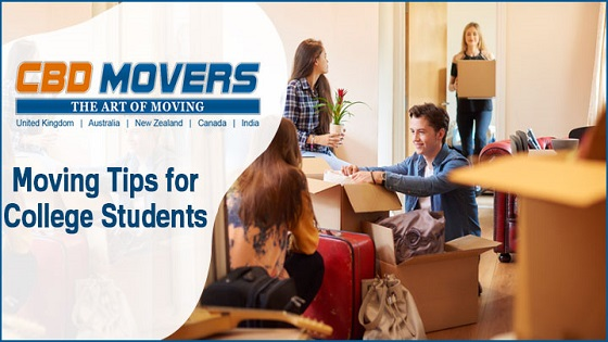 Moving Tips for College Students | CBD Movers UK