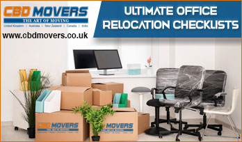 Checklists For Office Relocation Services in Islington