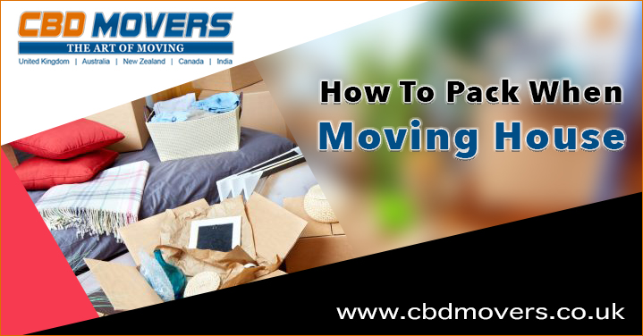 Removals London – How To Pack When Moving House