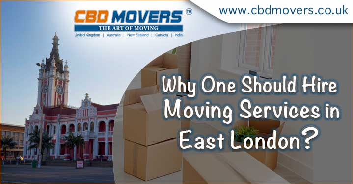Why One Should Hire Office or House Moving Services in East London?